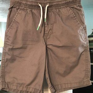 Cat & Jack Boys Pull-On Gray Shorts Sz S(6/7)